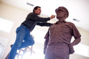 Rip Caswell_Nimitz Sculpture