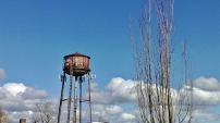 Troutdale water tower_Loree Harrell; 2013