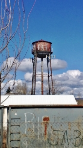 Troutdale's water tower