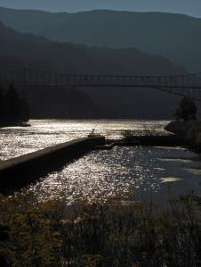 Cascade Locks from the Port;  Loree Harrell, 2012